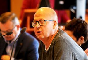 Centerpartisten Bosse Svensson röstade för en klimatväxling för kommunens flygresor.