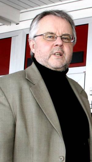 Platschef. Sten Lyckström vill inte lämna några kommentarer om uppgifterna kring en försäljning av Ovako.