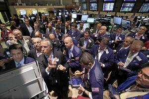 Ifrågasatt. Har nyliberalismen, här representerad av börsen, brutit samman?foto: scanpix