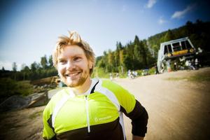 Martin Ekman är en av dem som ligger bakom Järvsö bergscykelpark. Efter att ha fördubblat omsättningen blickar han framåt mot nästa säsong.