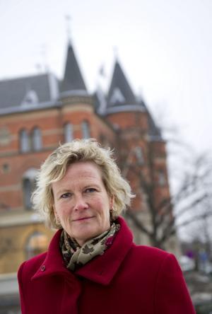 I frågasatt uppdrag. I går tog Promedias vd Lena Larsson steget in i Sveriges Radios styrelse. Hon får därmed ansvar för ett konkurrerande bolag. Arkivbild: sofie isaksson