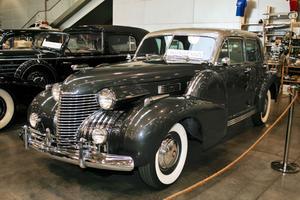 Cadillac Fleetwood 60 från 1940 - en bil som bland annat filmstjärnan Betty Grable ofta sågs i.
