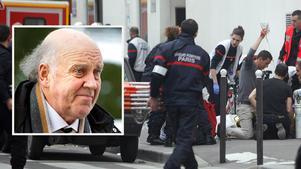 Benny Lennartsson fördömer dagens attentat mot satirtidningen Charlie Hebdo.