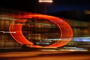 Fotoklubben Aros hade nattfoto torsdagen 11 mars. Då tog jag den här bilden utanför konserthuset.