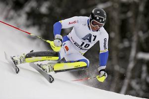 André Myhrer kom på 23:e plats vid världscuptävlingen i storslalom i japanska Naeba.