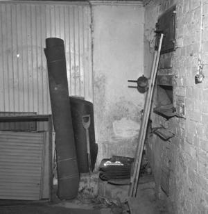 HET FRÅGA. Den här gamla bakugnen i Hedesunda fick stor uppmärksamhet i pressen 1965.