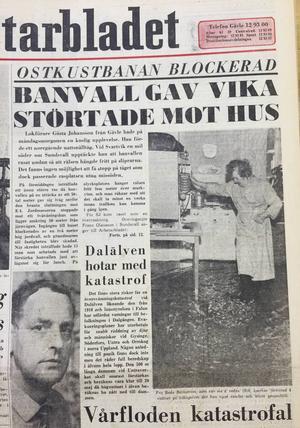 En skakad Gösta lät sig fotograferas för Arbetarbladet efter händelsen, men när reportrarna ringde bad han frun säga att han var ute.