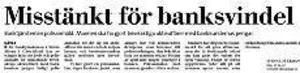 Ur Gefle Dagblad den 16 april 2002.