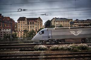 Binder ihop. Krav på bättre tåg Stockholm-Oslo. Foto:TT
