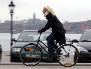Inte alltid lätt att vara cyklist i trafiken.