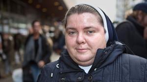 Bozena Pukacka, 41, syster, Grusåsen: – Jag hoppas det går bra för ungdomarna som kommer från hela världen till Polen för att träffa påven.