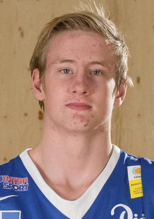 Oliver Gehrke, uttagen till H16-landslaget.   Foto: Jämtland Basket