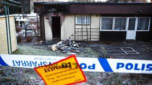 Villan på Olovs väg brann i december.