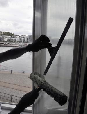 Fönsterputsning. Ger rätt till rutavdrag.
