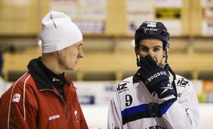 Mattias Hammarström gör pappa Mats sällskap i Edsbyn igen efter ett år i Sirius.