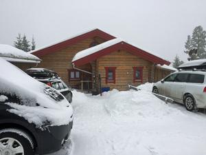 Här laddar Lager 157 Ski Team upp inför söndagens Vasalopp.