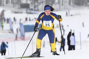 Linnea Jonsson från Jättendal kom åtta i D 17–18-klassen.