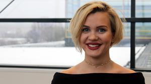 Saga Wahlström – årets vinnare av Queen Silvia Nursing Award.