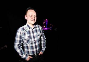 """Torgny """"Kingen"""" Karlsson är konferencier i Musik Direkt. Det har han varit i tre år nu."""