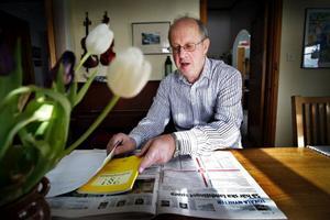 Anders Molander är nöjd över att landstinget tog bort sitt sparförslag på  demensvården.