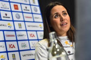 Anna Haag blev åtta på tio kilometer klassiskt i Gällivare. Foto: Alexander Larsson Vierth/TT