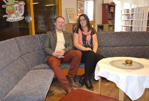 Robert Thunfors och Lotta Borg i Nätverk Timrå