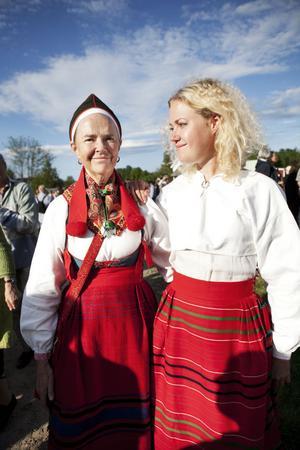 Britt Eklund och dottern Knapp Brita Pettersson.
