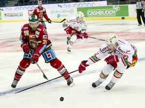 Timrå IK lånar in Modos Albin Carlson på obestämd tid. Han finns tillgänglig i fredagens match mot BIK Karlskoga.