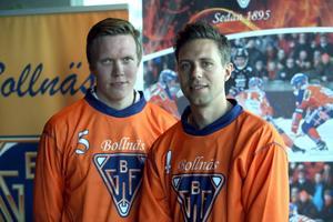 Daniel Berlin och Per Hellmyrs.