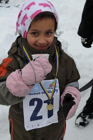 Josefin Filipsson, 5 år.