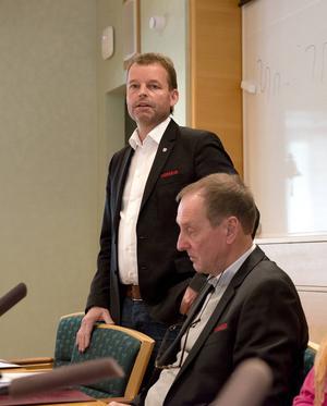 Timrå IK:s klubbdirektör Lars Nolander.