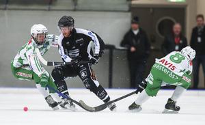 Ted Haraldsson, inne på sin nionde säsong i SAIK-tröjan.