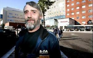 Arne Ström, Borlänge:-- Jag har opererat bort urinblåsan och fått en fantastisk vård. Men maten var usel.