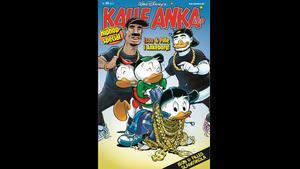 Kalle Anka ger ut ett hiphopnummer.