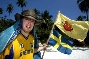 Leuf Svensson var med i Robinsson 2002 och 2003. Dags igen?