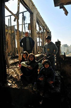 Bara spillror återstod av musikskolan i Gaza efter bombangreppen i vintras. Men nu kommer bland andra Östersunds kulturskola att stödja återuppbyggnaden genom en insamling som startar på fredagen.