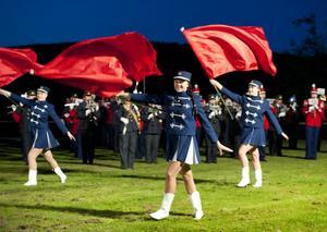 Det var trångt i påskodarleden när årets Festival Salute avhölls i Älvhagen på lördagen. Publiken gillade också vad de såg och hörde och epitetet