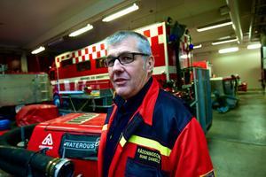 Räddningschef Rune Daniels i Rättvik känner inte till att man anmälts till Konkurrensverket.