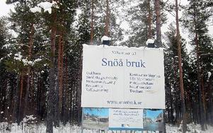 I dagsläget är inget klart med försäljningen av Snöå bruk. FOTO:LEIF OLSSON