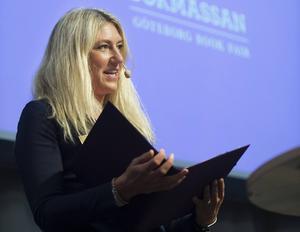 Bokmässans vd Maria Källsson. Arkivbild.   Foto: Fredrik Sandberg/TT