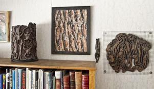 Liten grupp med Margaretas uttryck, med inspiration från barken på en trädstam.