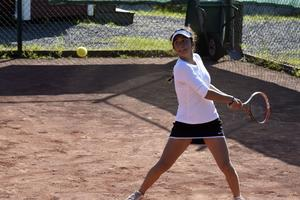 Maria Fernanda Morales från Luleå TK spelade helgens längsta match.