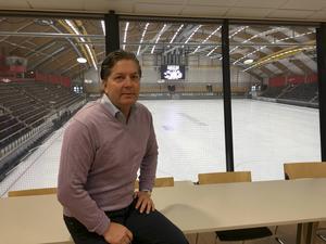Magnus Roos är projektledare för det bandy-VM som avgörs i Sandviken 2017.