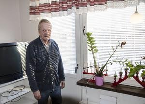 Lägenheten i centrala Sundsvall fick Thorvald efter att ha varit hemlös under en längre tid.