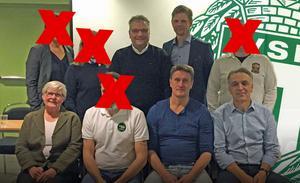 På onsdagskvällen den 13 september 2017 avgick fyra representanter för VSK Fotbolls styrelse efter ett ledningsmöte. Det handlar om personerna bakom de röda