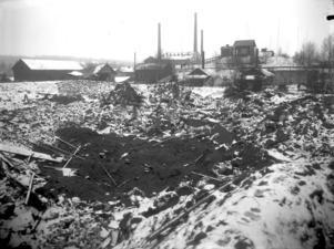 Den historiska bilden från den stora skrällen i Grängesberg