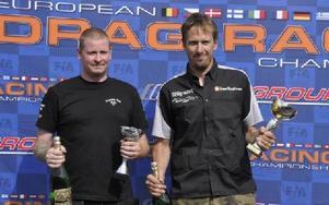 Björn Friström, Mora vann Super Street Bike. Robert Häggblom kom tvåa. Foto: