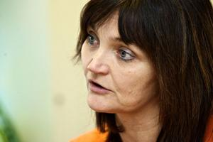 Kommunals ombudsman Annica Lernholt tycker att Löfven är ett bra val.
