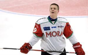Christoffer Rasch blev matchvinnare med sitt avgörande straffmål mot Rögle.