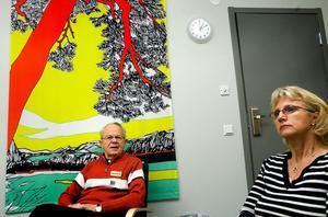 På tisdag klockan elva informerar Erik Dufvenberg och Maud Wiklund om sina roller som vittnesstöd och stödperson.  Informationen ges på Kulturmagasinet i Sundsvall.